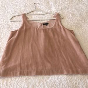 Brand new JCREW Dusty Rose Velvet top